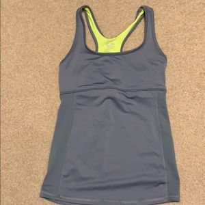 Active wear champion tank top